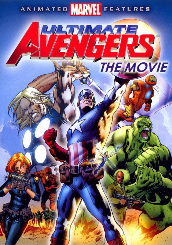 affiche du film Ultimate Avengers