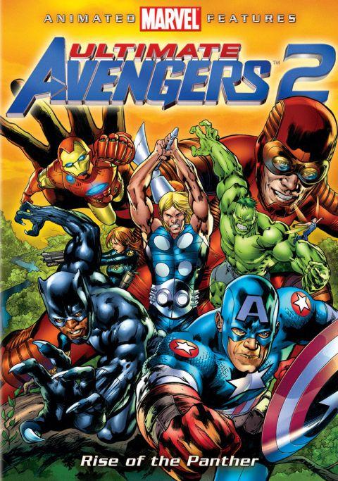affiche du film Ultimate Avengers 2