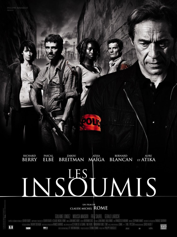 affiche du film Les insoumis