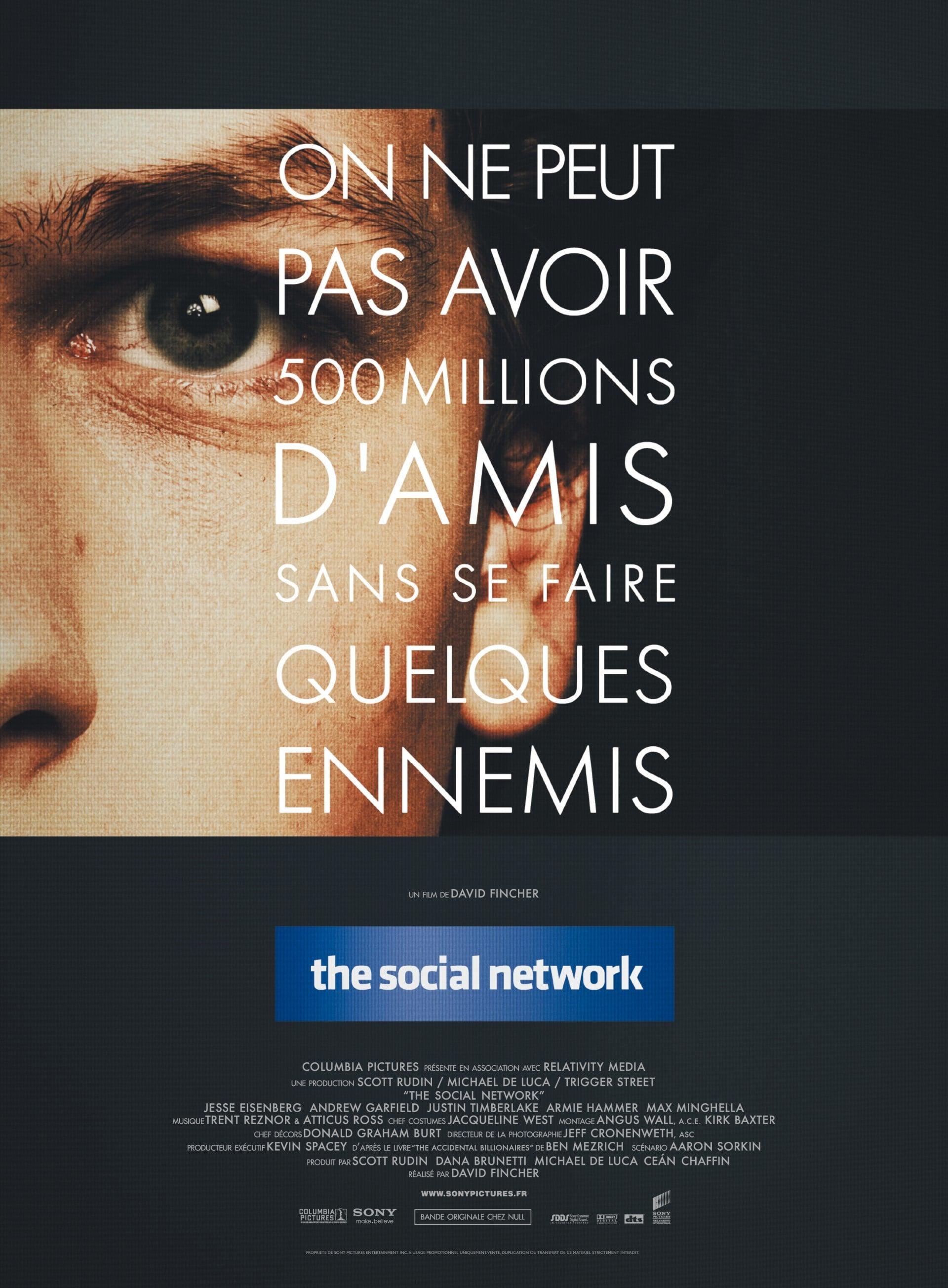affiche du film The Social Network
