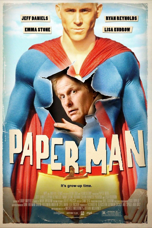 affiche du film Paper Man