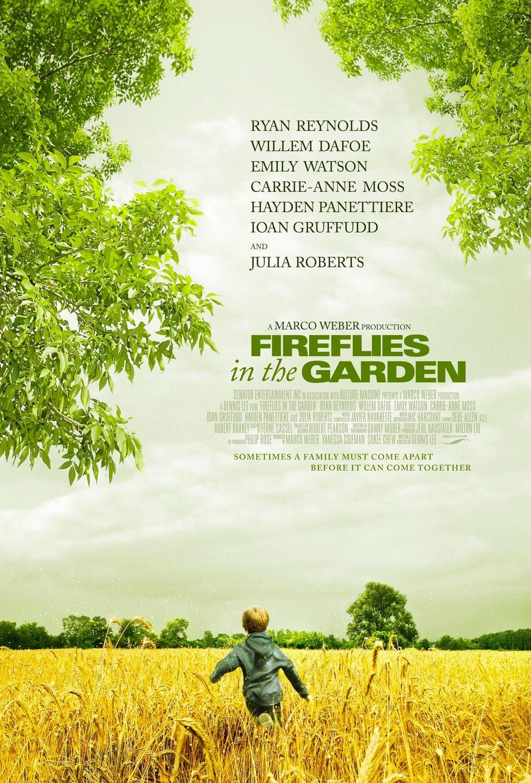 affiche du film Fireflies in the Garden
