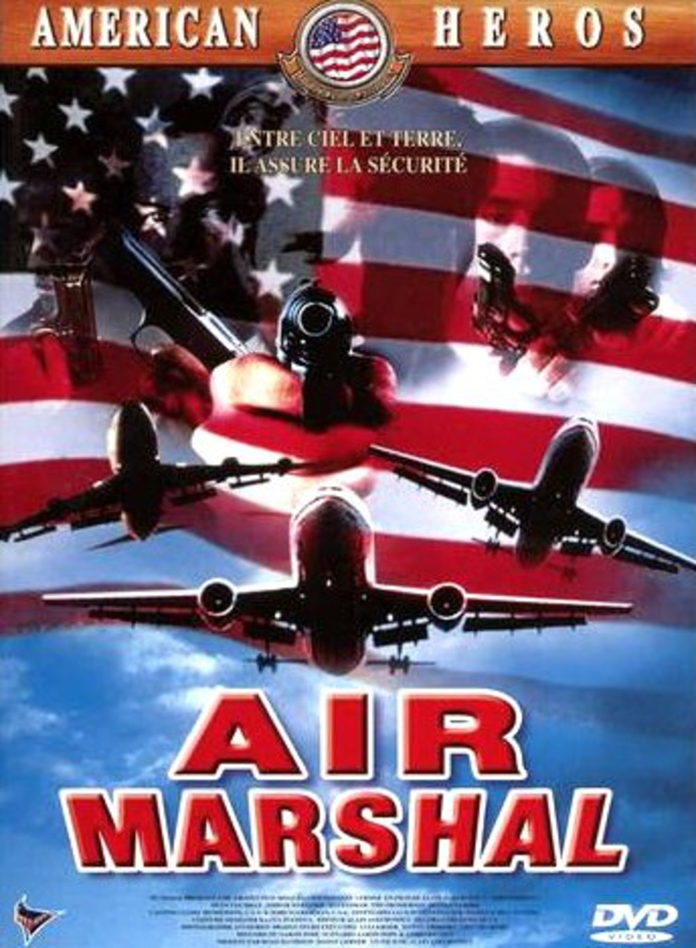 affiche du film Air Marshal : un vol pour l'enfer