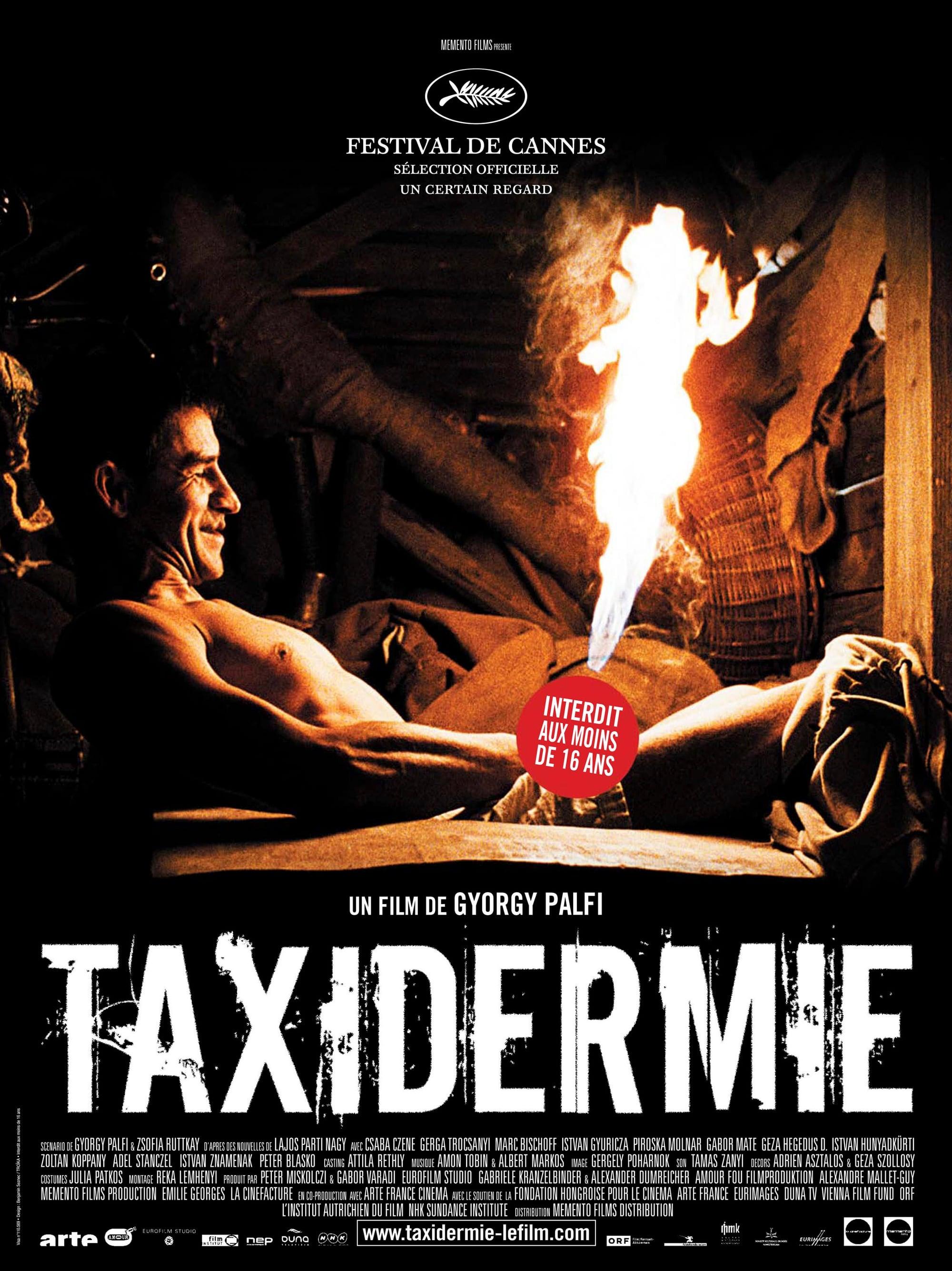 affiche du film Taxidermie
