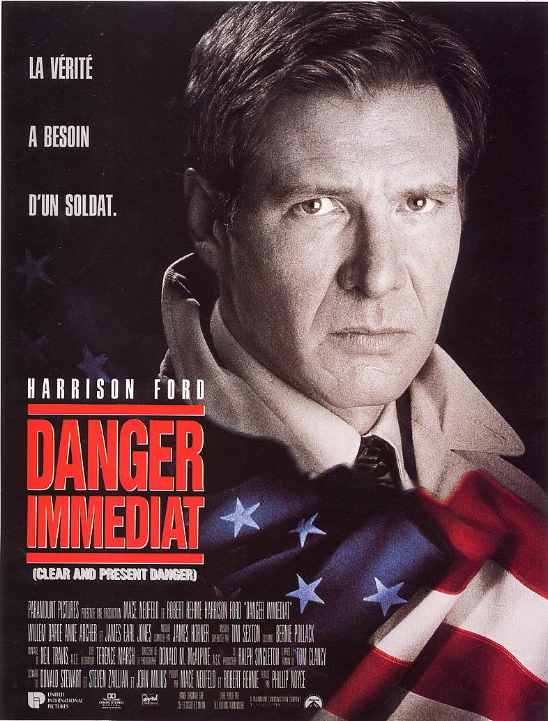 affiche du film Danger immédiat