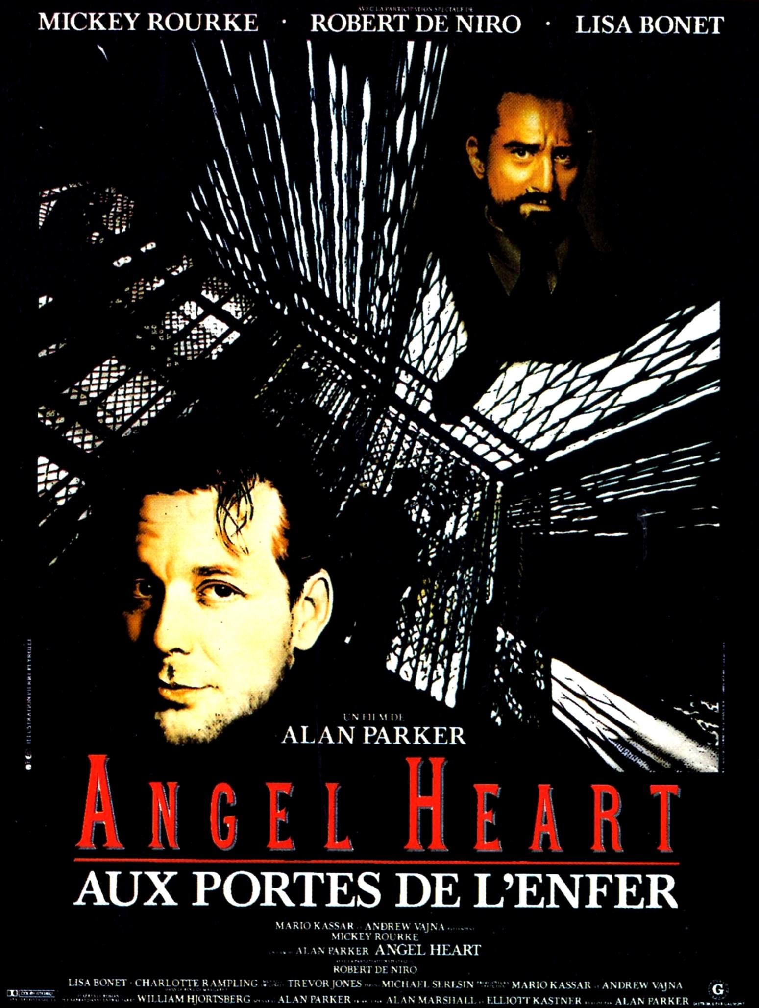affiche du film Angel Heart: Aux portes de l'enfer