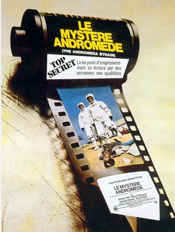 affiche du film Le mystère Andromède