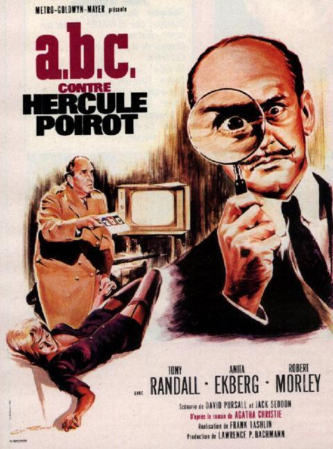 affiche du film ABC contre Hercule Poirot