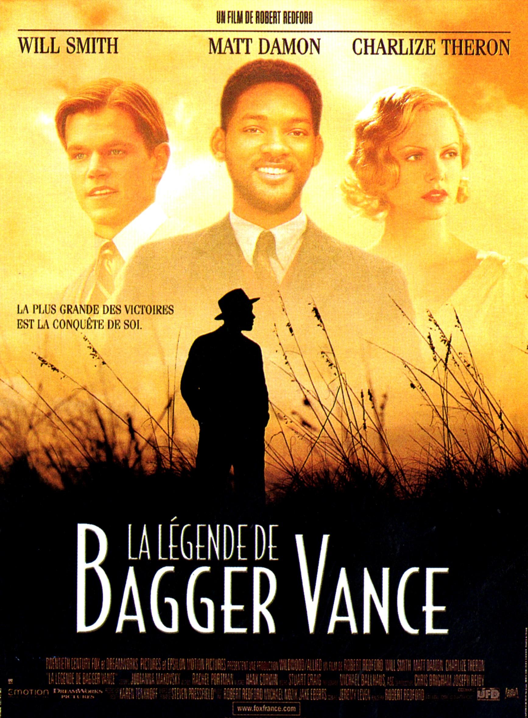 affiche du film La légende de Bagger Vance