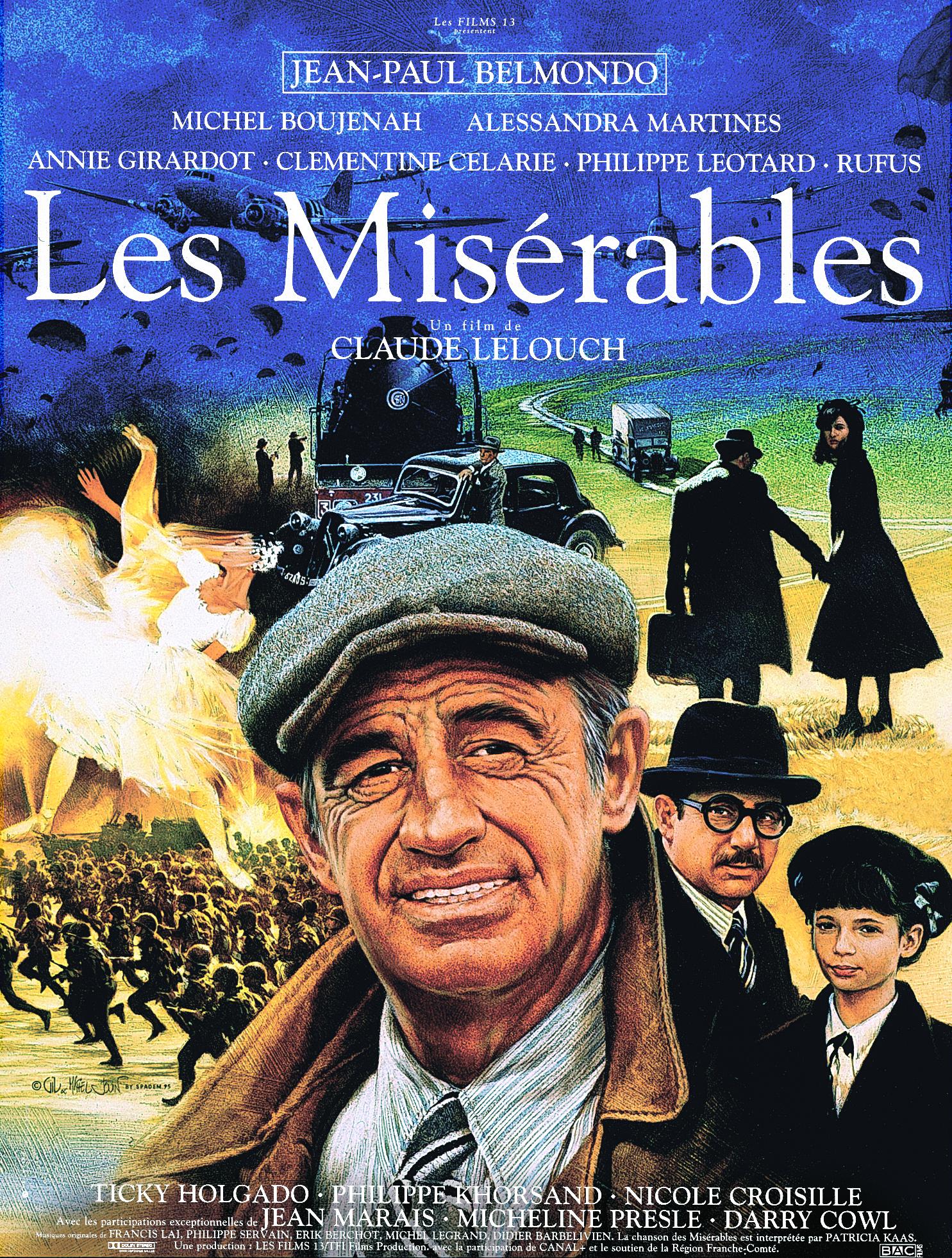 affiche du film Les misérables