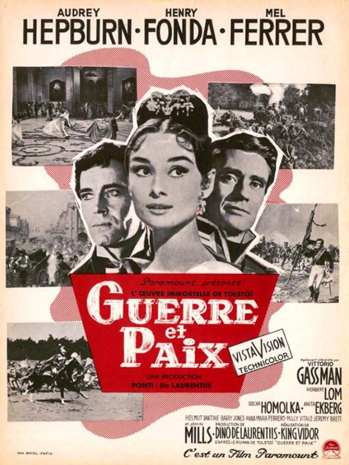 affiche du film Guerre et paix (1956)