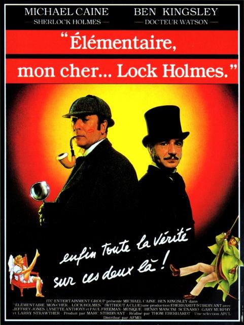 affiche du film Élémentaire mon cher...lock Holmes
