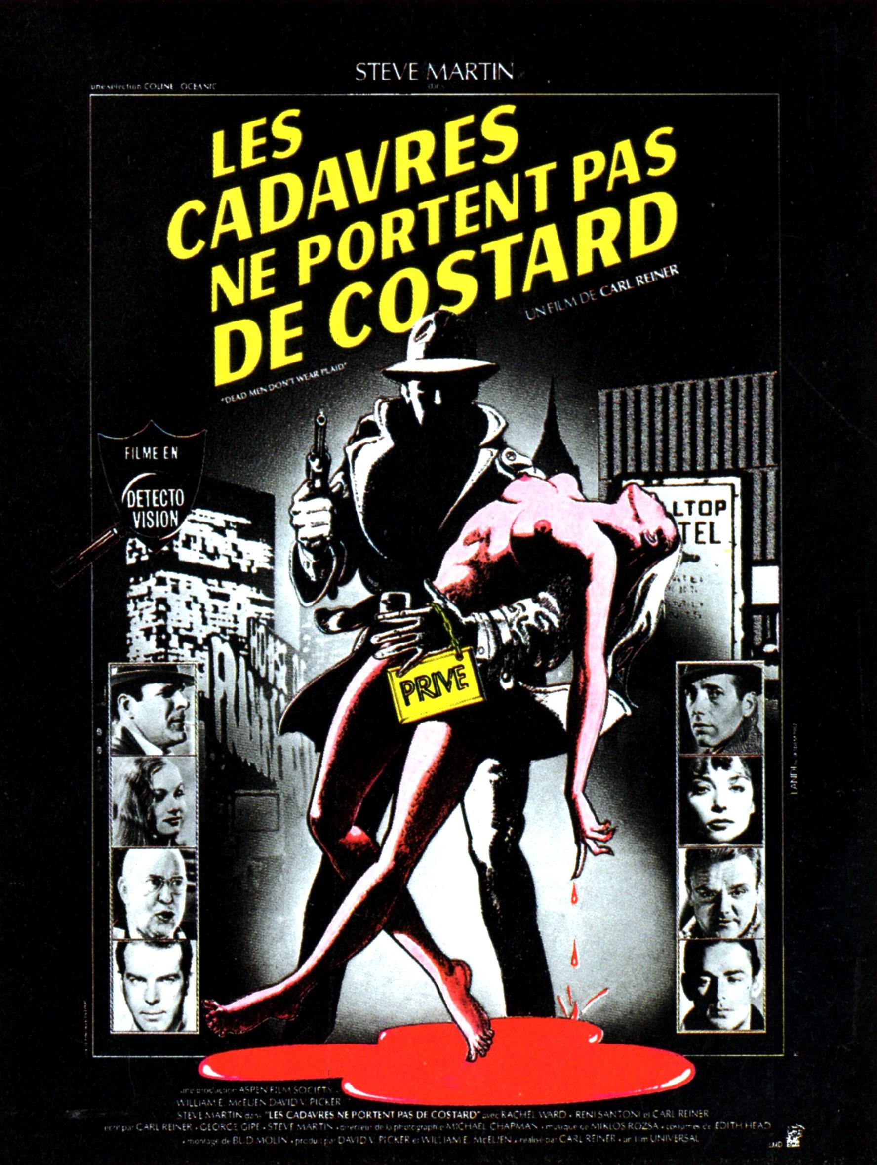 affiche du film Les Cadavres ne portent pas de costard