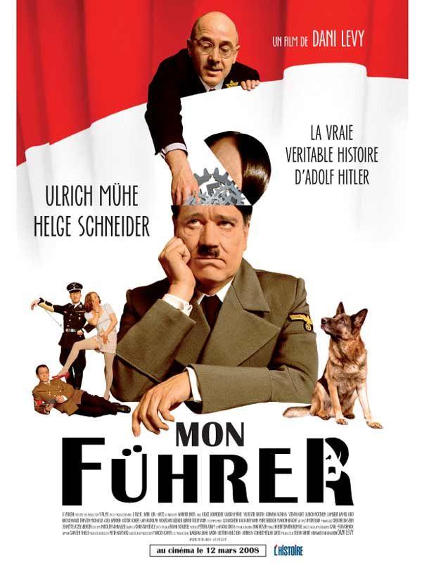 affiche du film Mon Führer: La vraie véritable histoire d'Adolphe Hitler