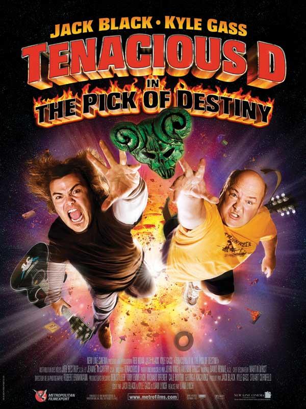 affiche du film Tenacious D et le Médiator du destin