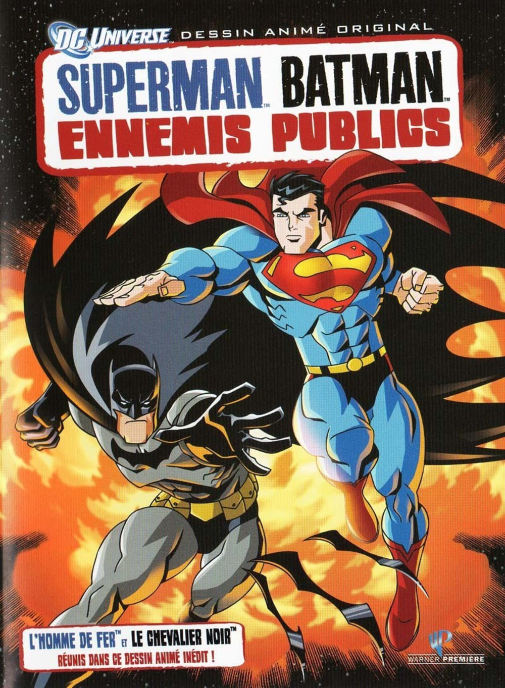 affiche du film Superman / Batman : Ennemis publics