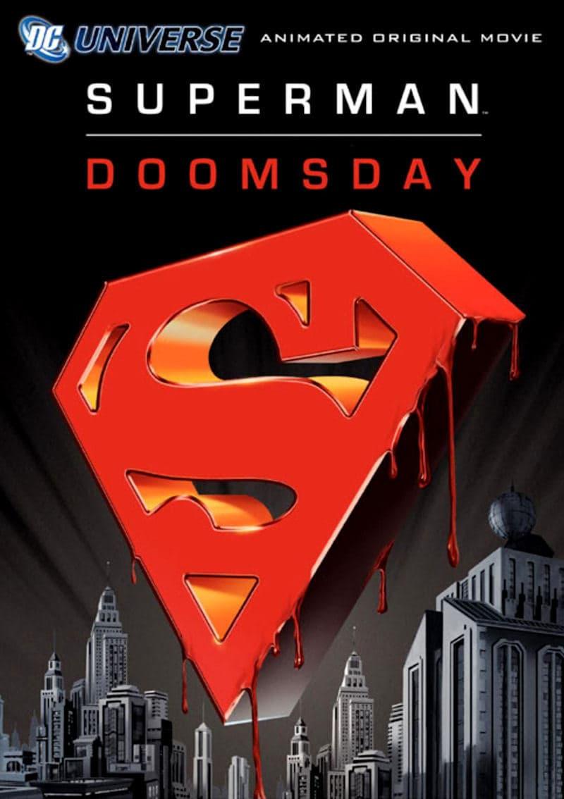affiche du film Superman : Le crépuscule d'un dieu