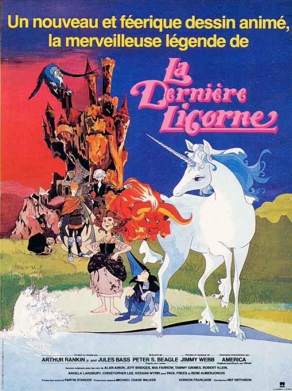 affiche du film La Dernière Licorne