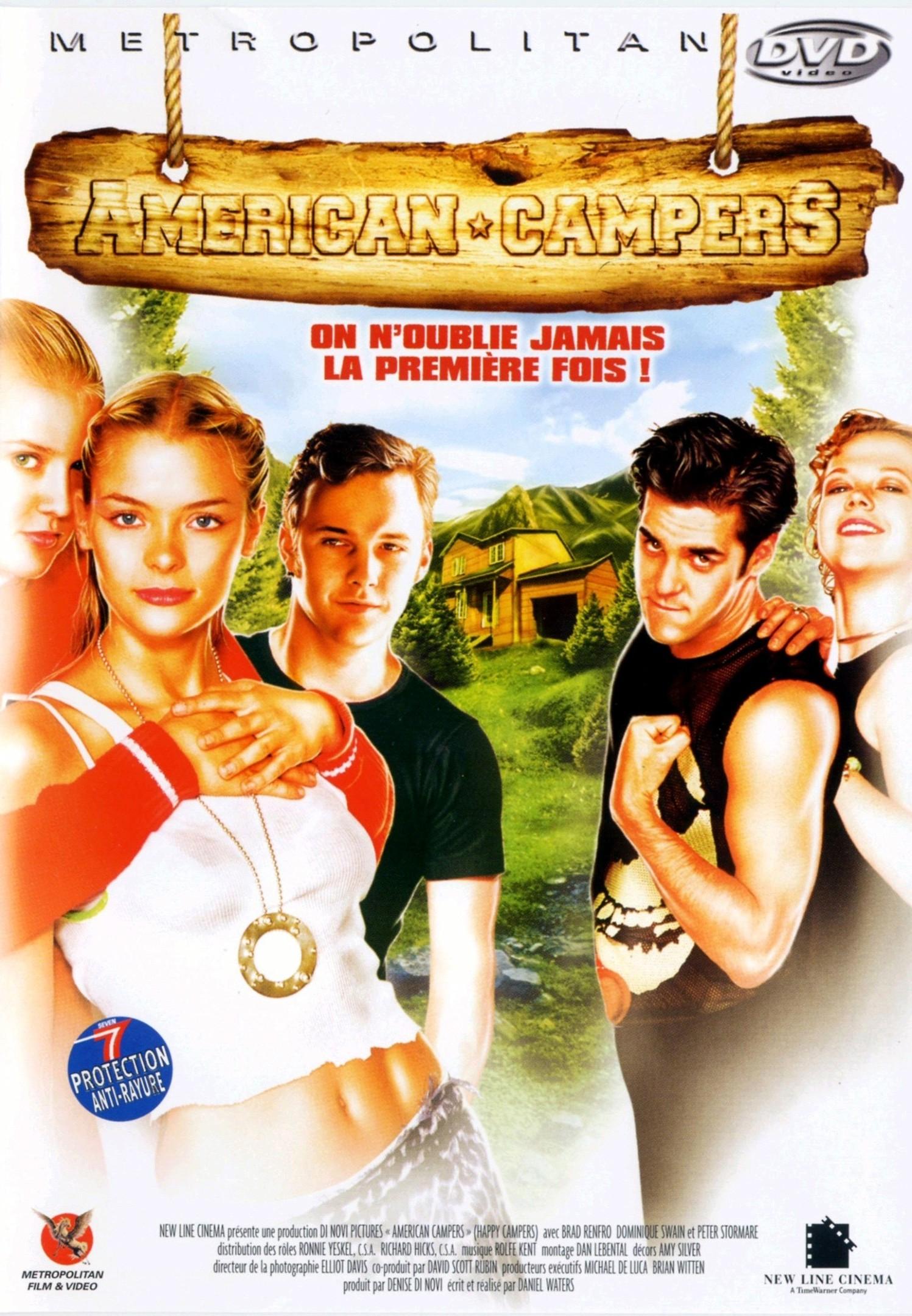 affiche du film American Campers