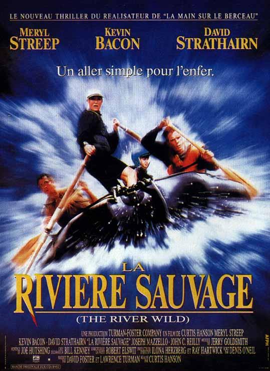 affiche du film La rivière sauvage