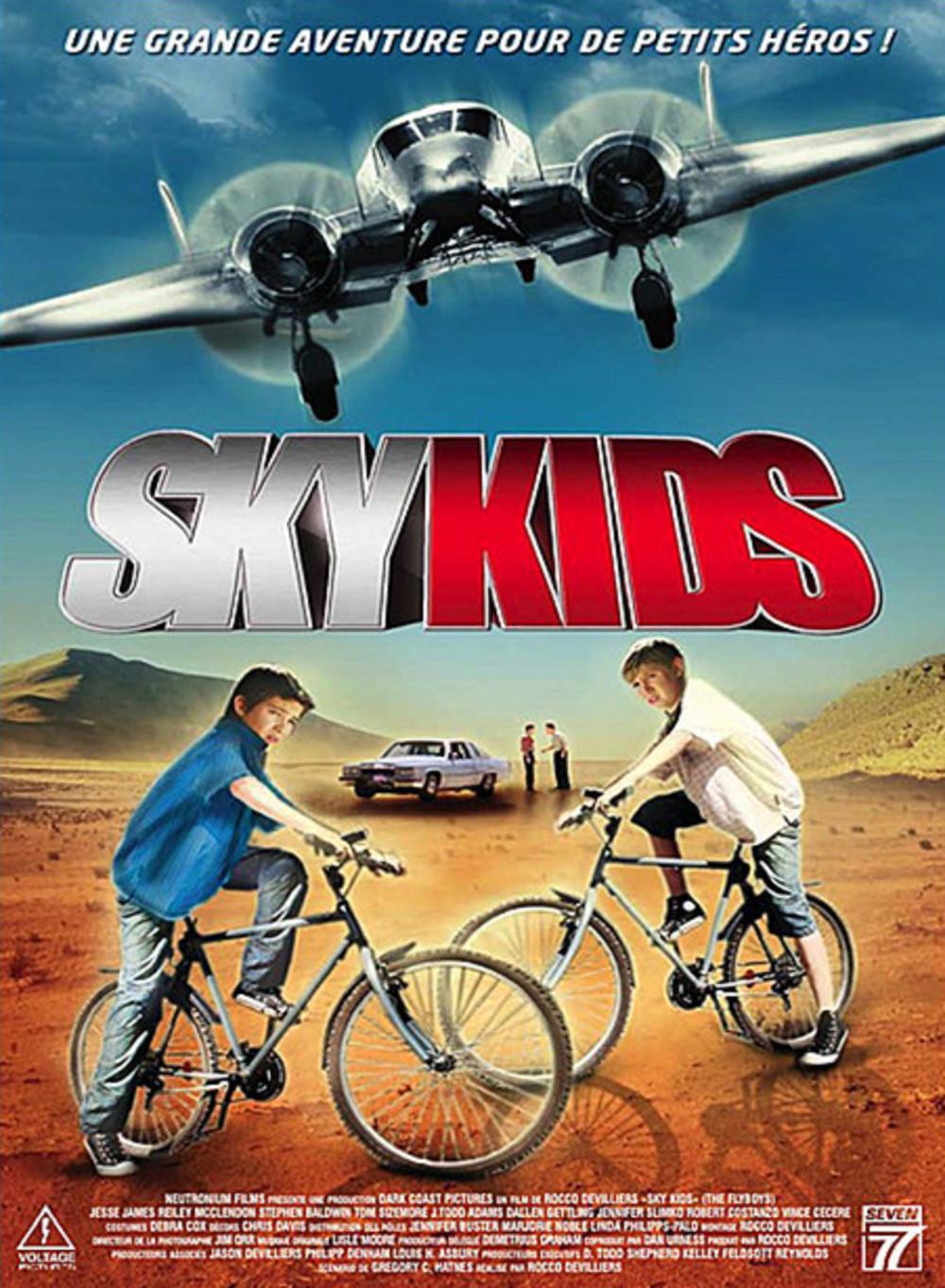 affiche du film Sky Kids