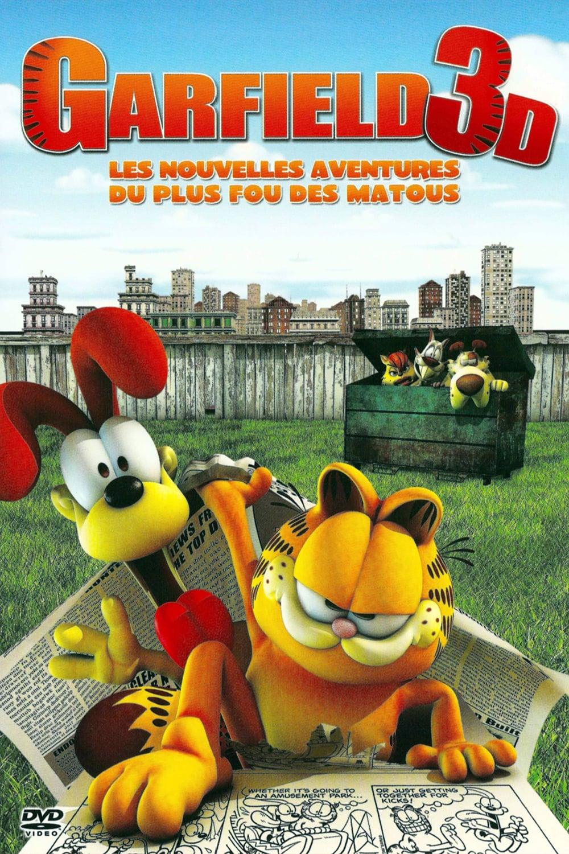 affiche du film Reviens, Garfield !