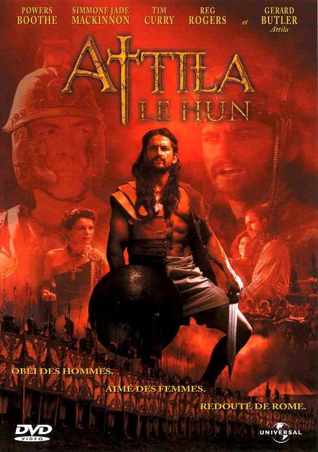 affiche du film Attila, le Hun