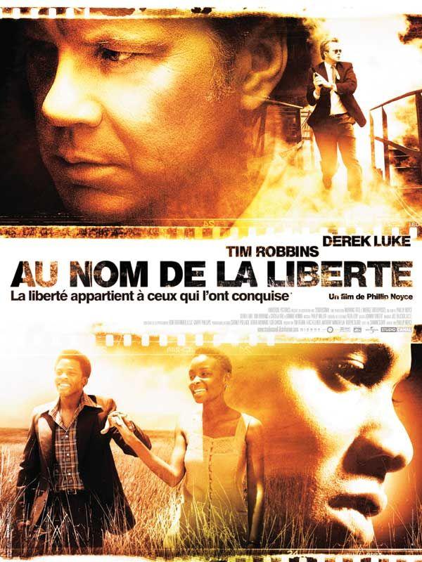 affiche du film Au nom de la liberté