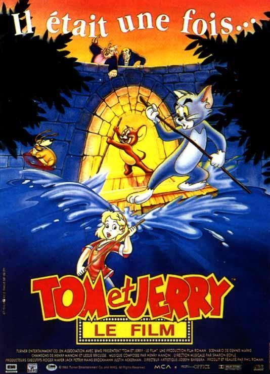 affiche du film Tom et Jerry, le film