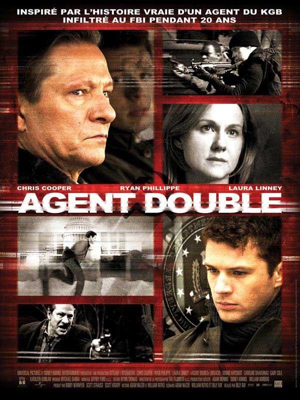 affiche du film Agent double