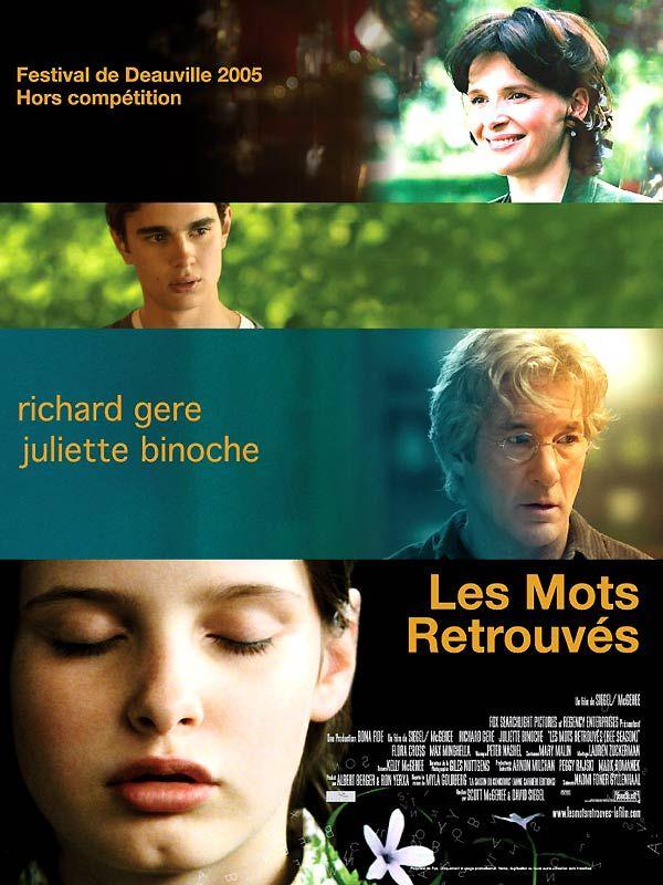 affiche du film Les mots retrouvés