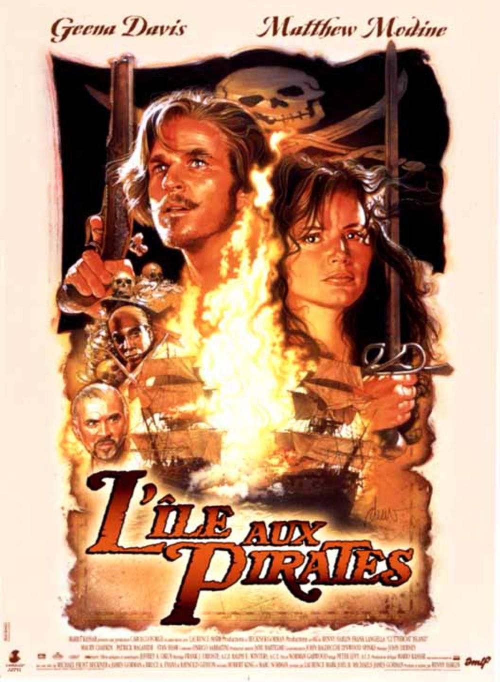 affiche du film L'île aux pirates