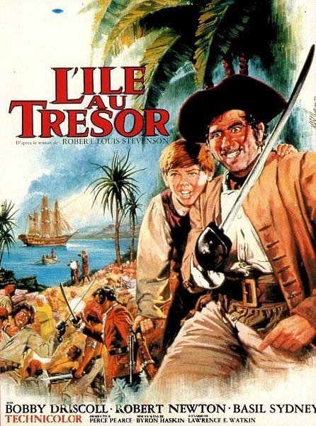 affiche du film L'Île au trésor (1950)