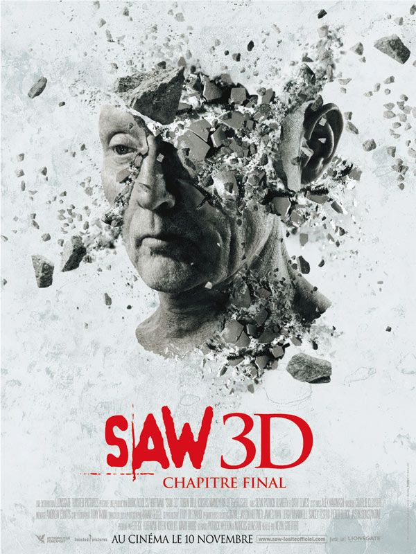 affiche du film Saw 3D: Chapitre final