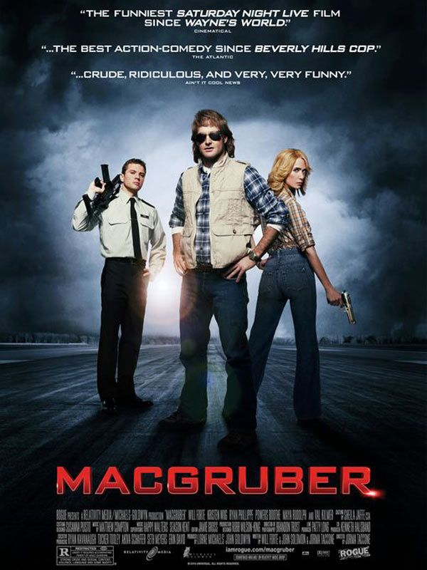 affiche du film MacGruber
