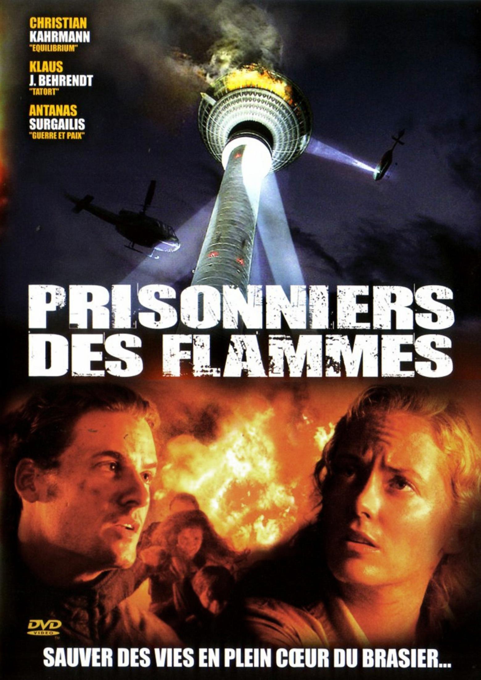 affiche du film Prisonniers des flammes (TV)