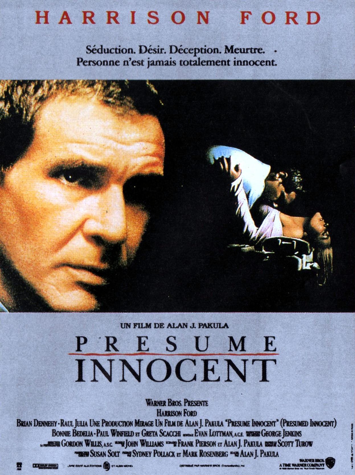affiche du film Présumé innocent