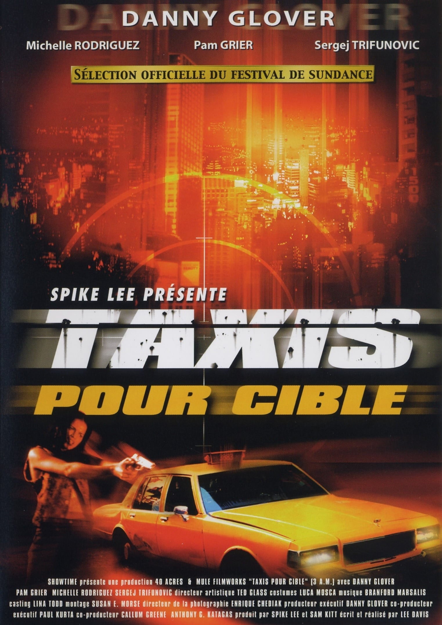 affiche du film Taxis pour cible