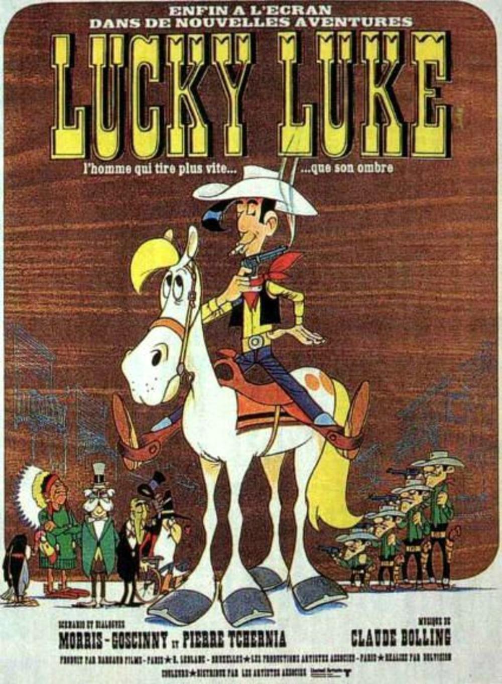 affiche du film Lucky Luke (1971)