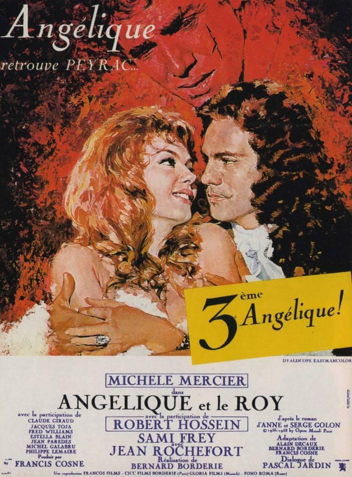 affiche du film Angélique et le roy