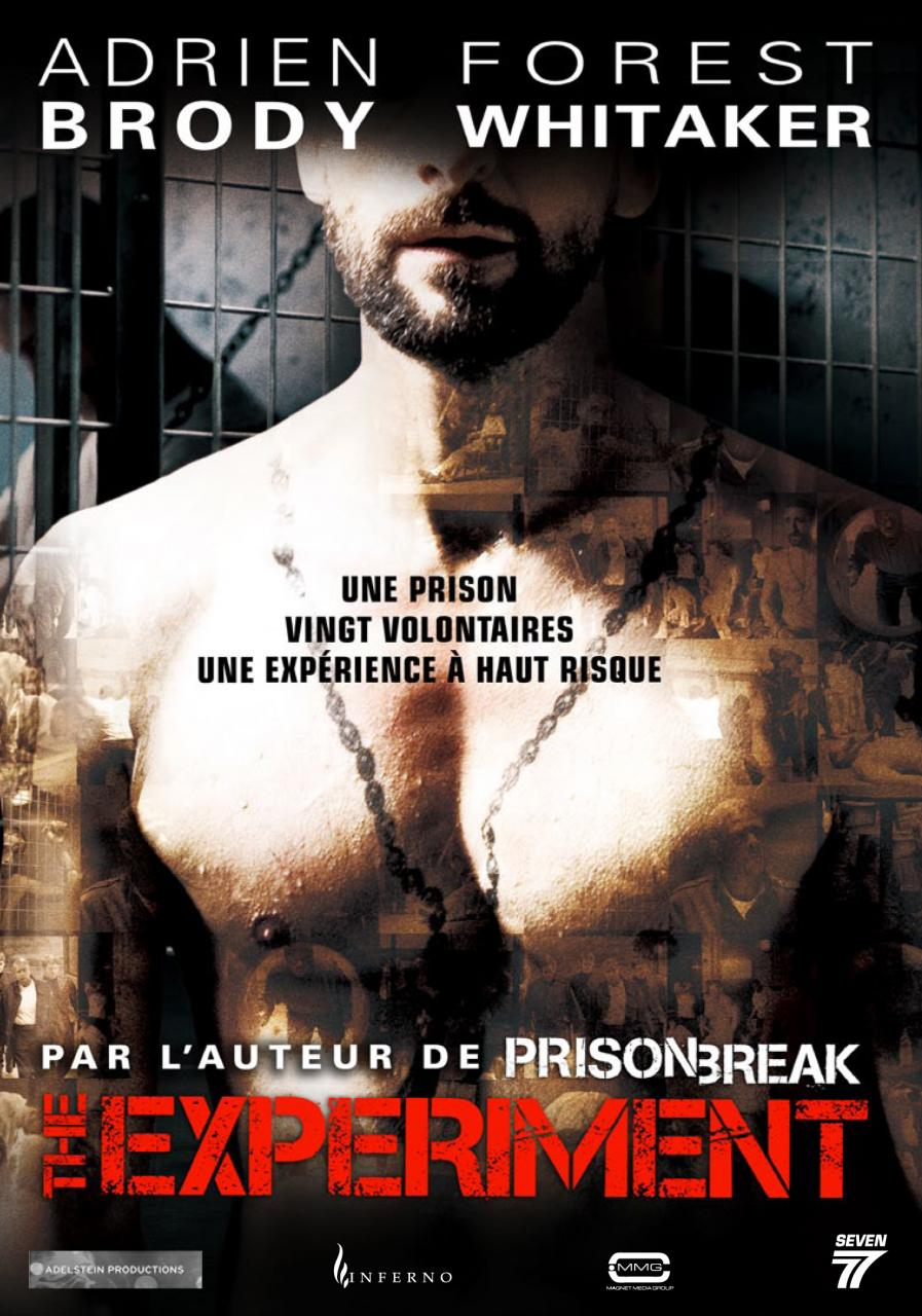 affiche du film The Experiment
