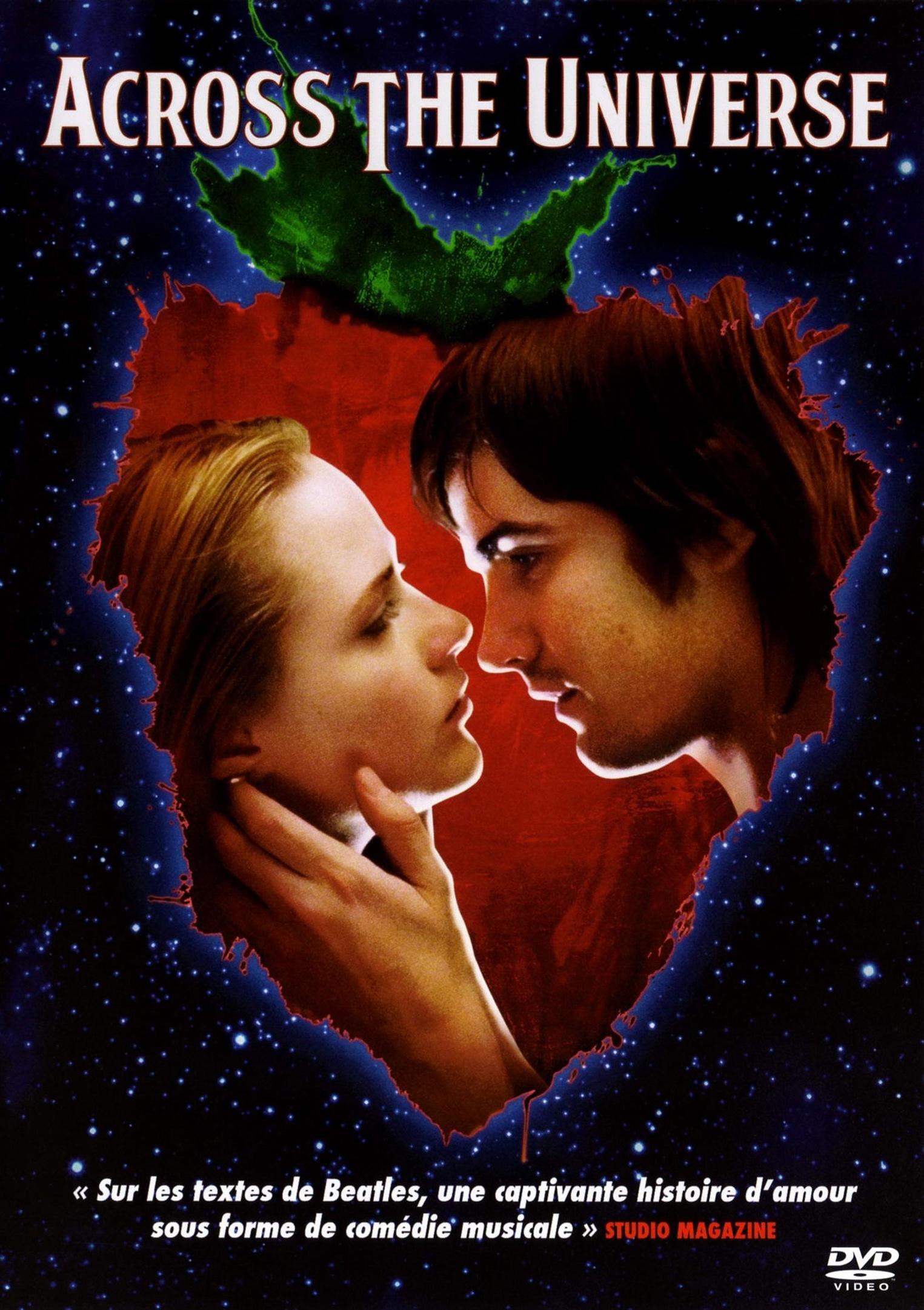 affiche du film Across the Universe