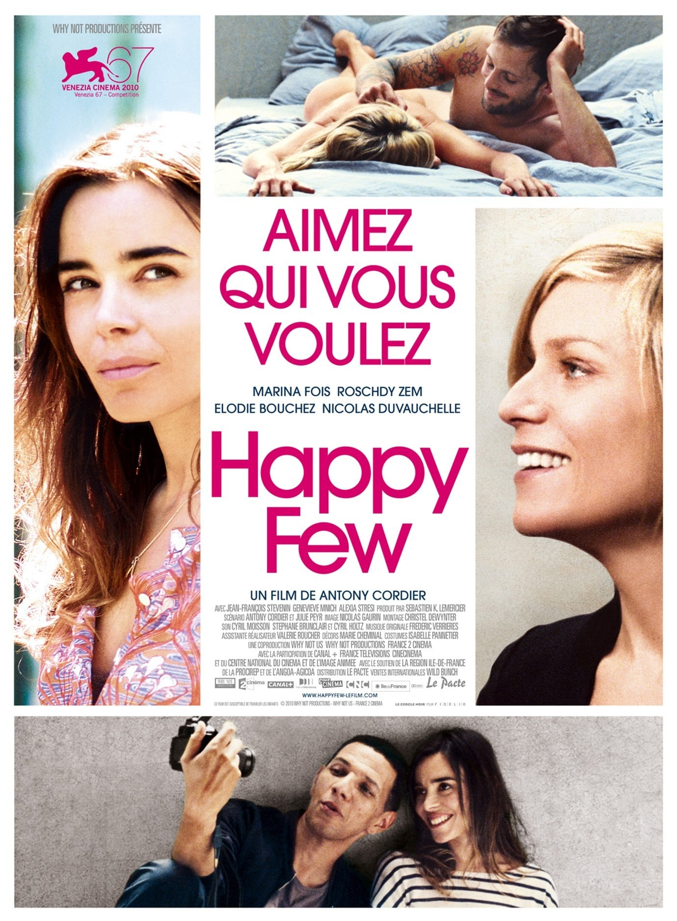 affiche du film Happy Few