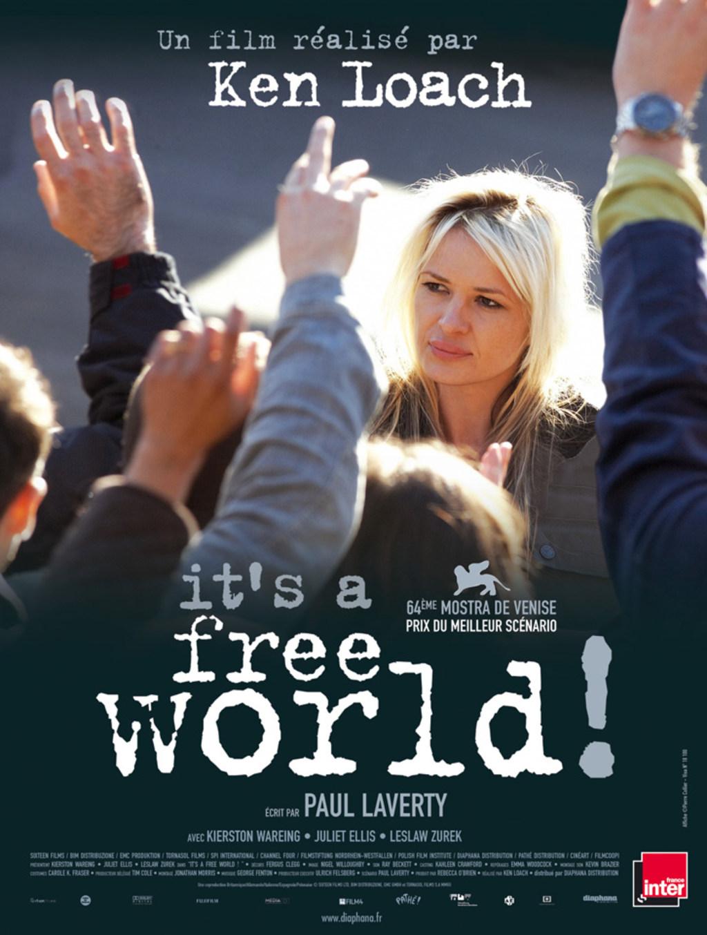 affiche du film It's a Free World...