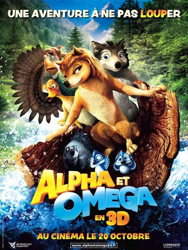 affiche du film Alpha & Omega