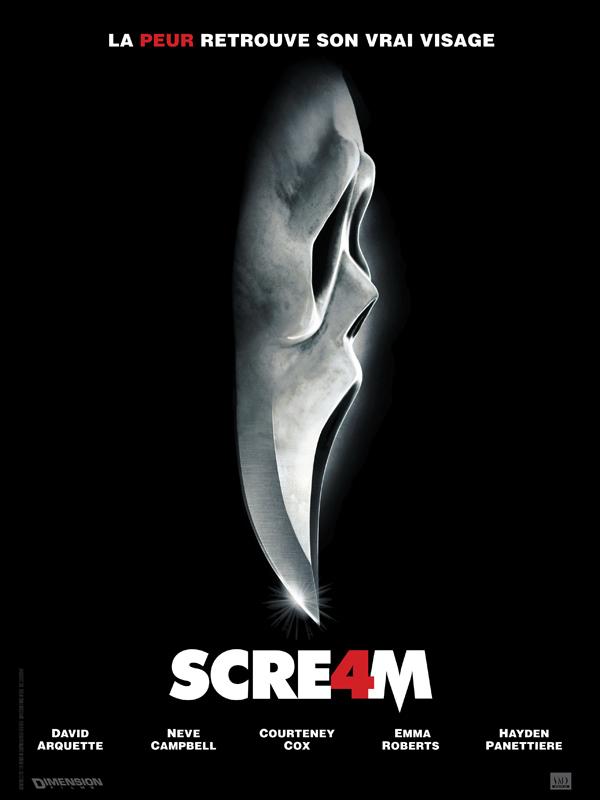 affiche du film Scream 4