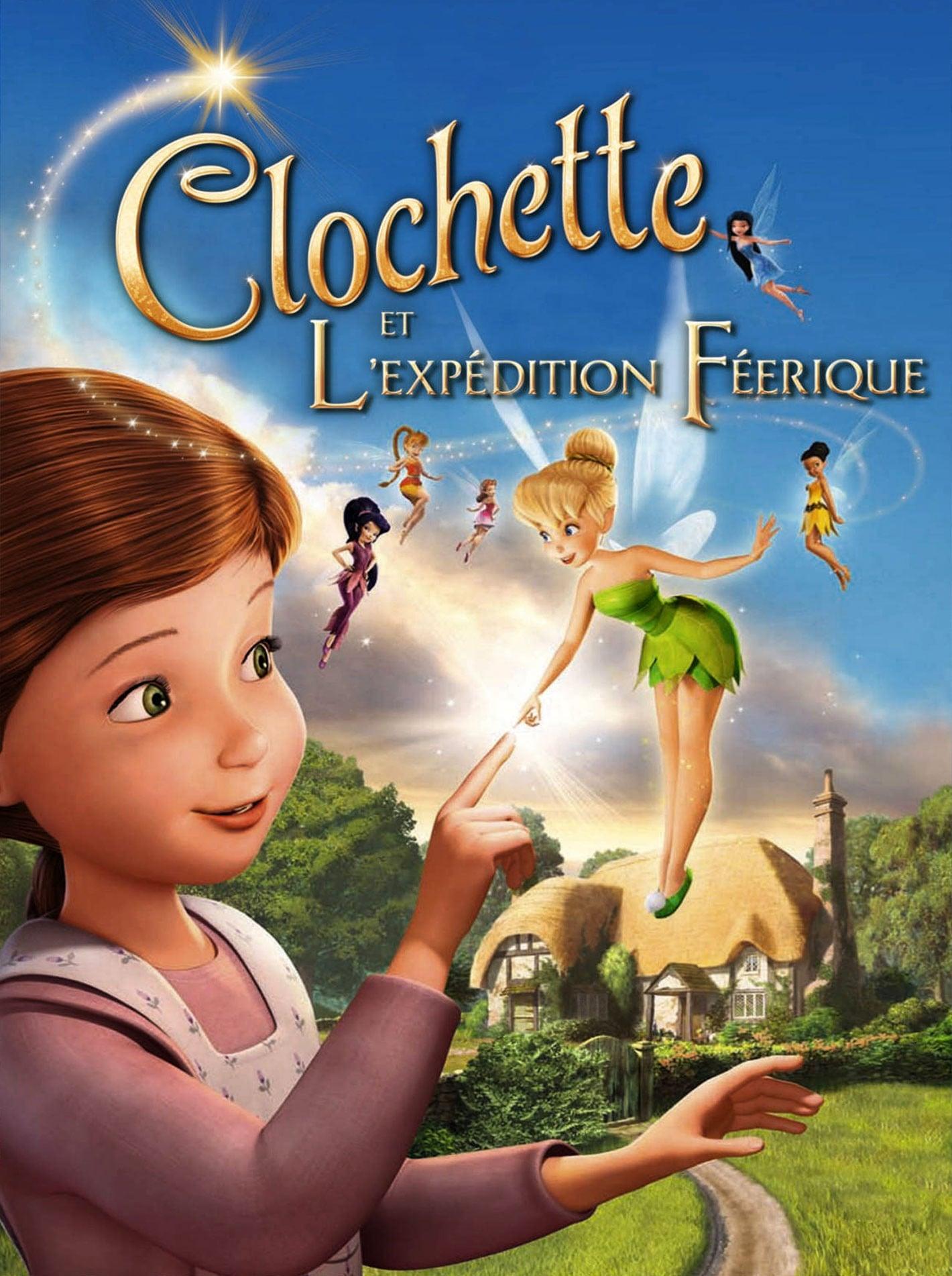 affiche du film Clochette et l'expédition féérique