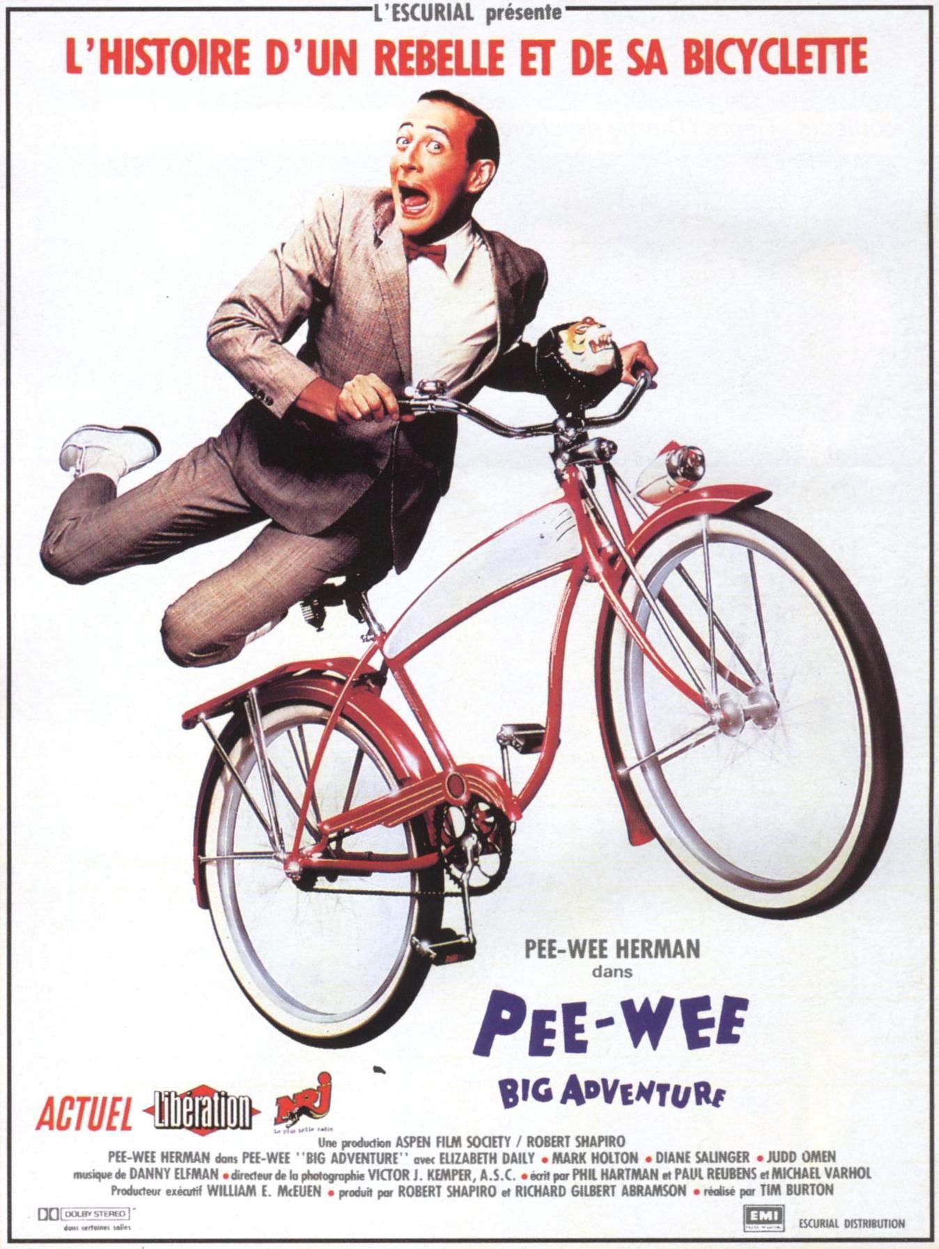 affiche du film Pee-Wee Big Adventure