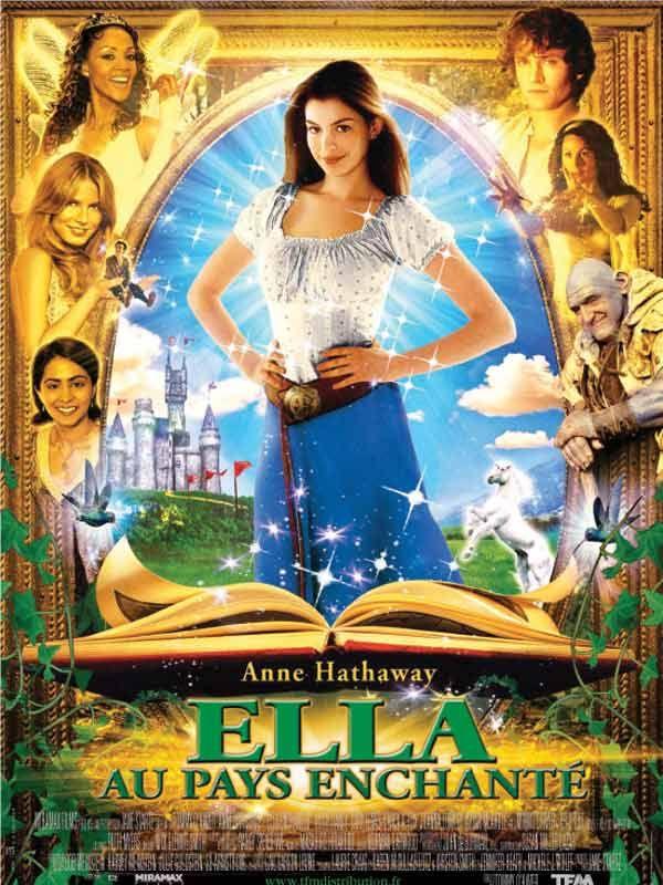affiche du film Ella au pays enchanté