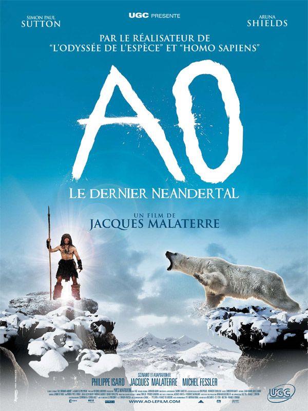 affiche du film Ao, le dernier Néandertal